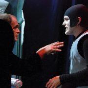 Agamemnon und Jupiter im Kampf